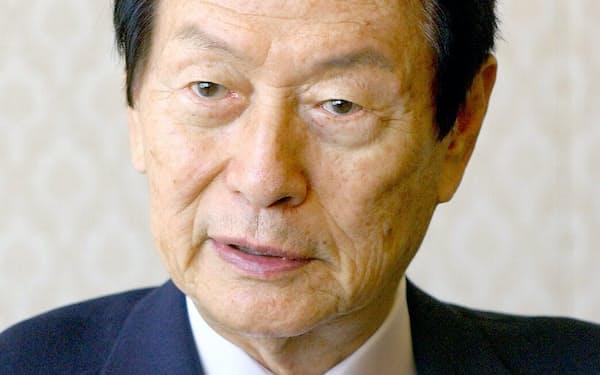 重光氏は韓国大手財閥で唯一存命する創業者だった(写真は04年)