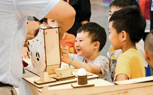 イベントは主に子供向け(新工場創客教育提供)