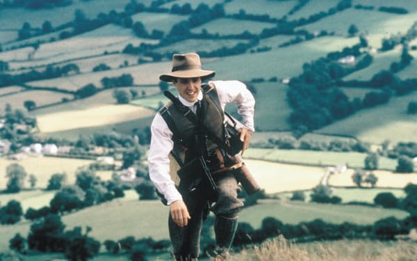 ウェールズ人の誇りを心温まるタッチで描いた「ウェールズの山」(C)Album/アフロ