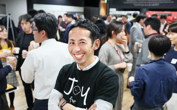 SOMPOグループの社員が横断的に参加する交流会を企画した佐藤さん