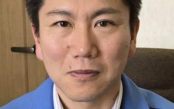 南信精機製作所                                                   片桐良晃社長