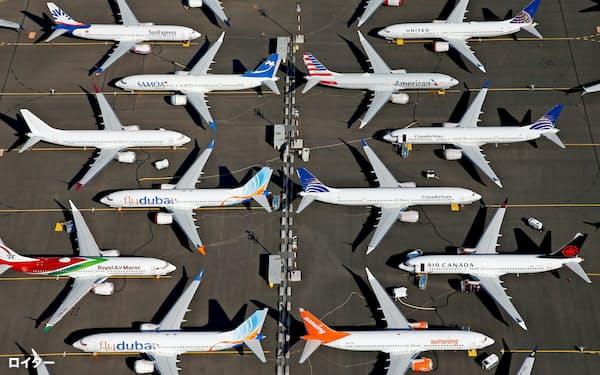 「737MAX」の相次ぐ事故に加え、航空機需要の一段の低迷が懸念される=ロイター