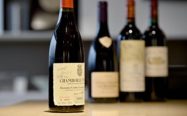 貝原さんからいただいたワインは開封せずに置いてある