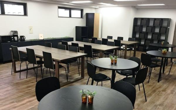 ロディーナが運営するリワーク施設は喫茶店のような明るい雰囲気が特徴