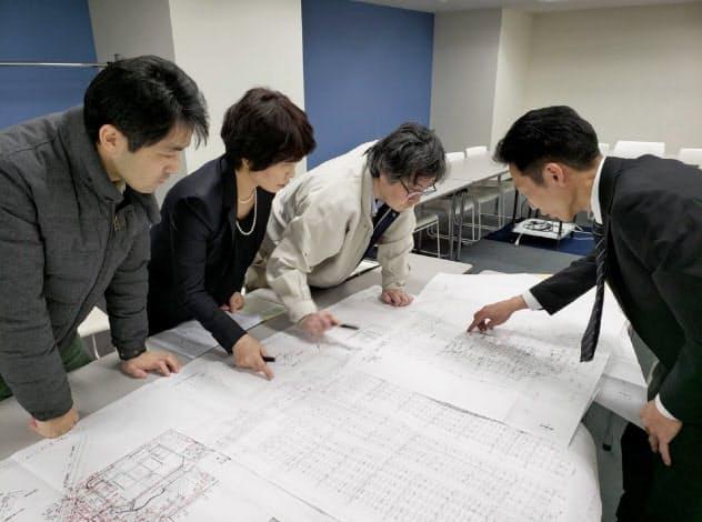 台風被害の原因解明を進める「タスクフォース」の住民=パークシティ武蔵小杉ステーションフォレストタワー管理組合提供