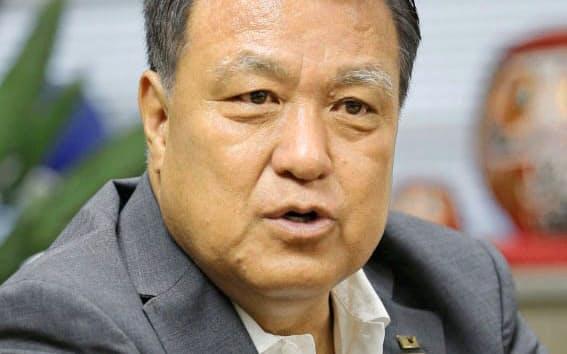田嶋氏は「苦境にあるクラブや団体を支え抜く」と力を込める