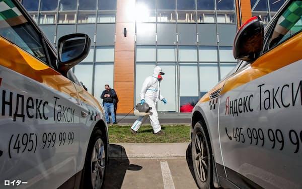 配車サービスも手掛けるロシア最大のIT企業、ヤンデックスの経営方針には、同国政府が影響を強める=ロイター