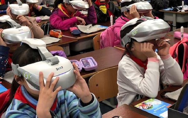 200以上の小中学校に導入=北京星辰万有科技提供