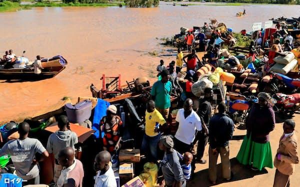 新型コロナに注目が集まっているが、気候変動リスクが後退しているわけではない(ケニア、5月20日)=ロイター
