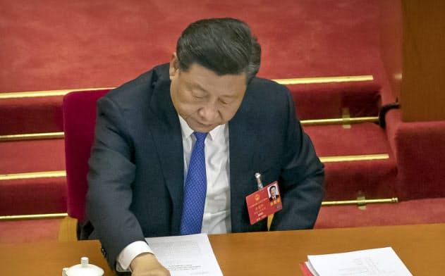 中国、国家安全法制定方針を採択