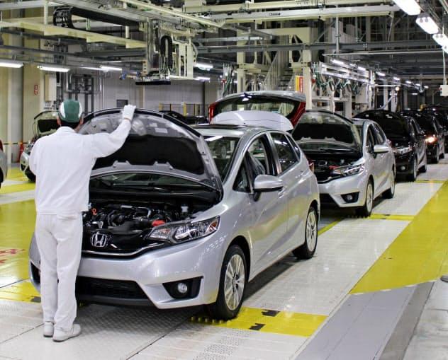 電動車の新たな生産技術を開発する (埼玉県寄居町の寄居工場)