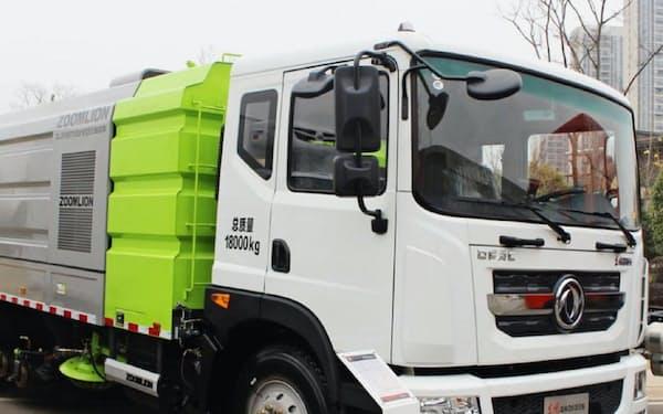 清掃車をIoT化する=酷陸科技提供