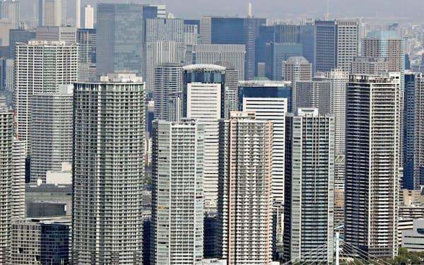 株価の変動は半年後のマンション価格に影響する可能性がある