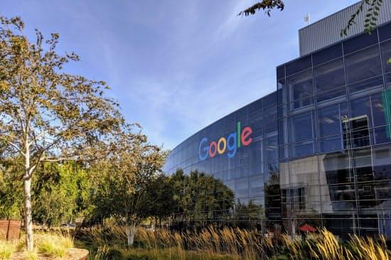 グーグルは整備されたオフィスを優秀な人材の獲得につなげてきた(米カリフォルニア州の本社)