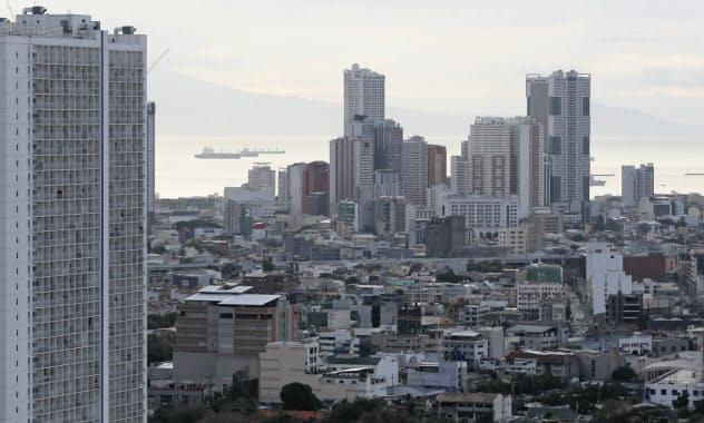 新型コロナの感染拡大の影響で新築マンション価格の下落が予想されている(マニラ)