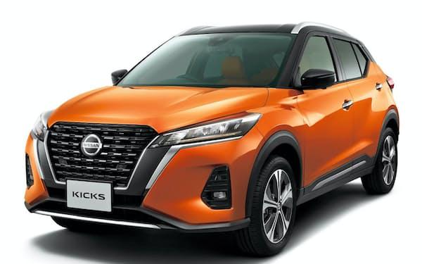日産自動車が30日に国内で発売する新型「キックス」