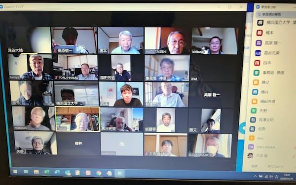 横浜市保土ケ谷区の常盤台地区連合町内会は役員の成り手を増やすため、「Zoom」を使って会議を効率化する
