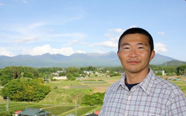 八ケ岳が見渡せる長野県茅野市のオフィスから山の天気予報を出す