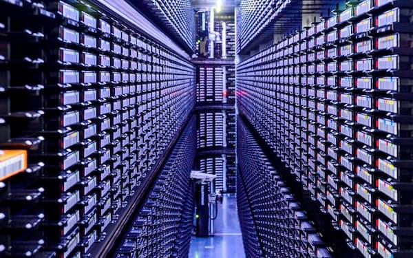 企業のデータ活用は必要な情報をえり分ける段階に入った(米グーグルのデータセンター)