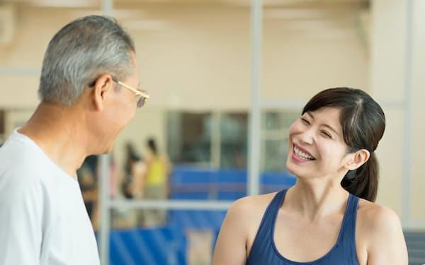 運動プログラムでは研究でさまざまな指標が改善した