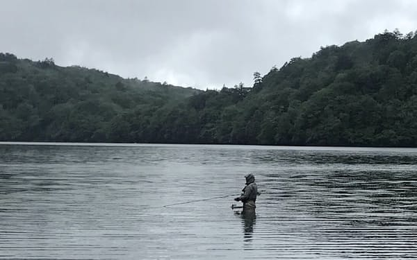 大自然の中で釣りを楽しめる