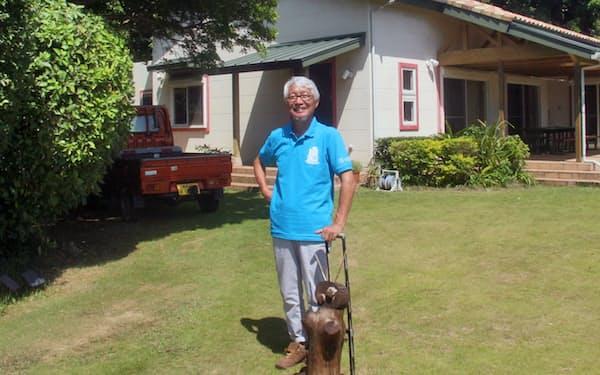 沖永良部島を生活の拠点にしながら「笑顔あふれる持続可能な社会」を模索し続けている