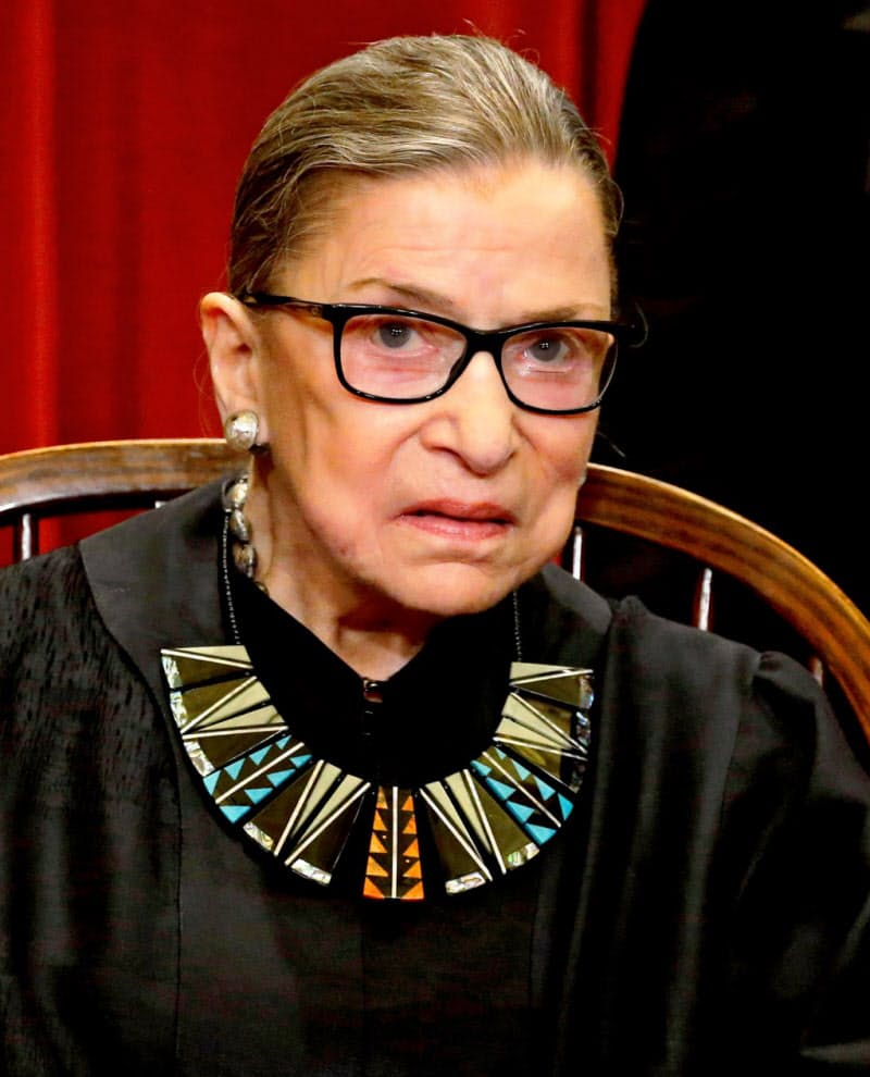 ギンズバーグ判事は女性の権利向上に尽力した=ロイター