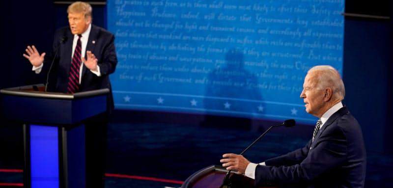 米分断映す混沌の討論 大統領選