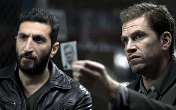 シリア系の捜査助手アサド(左)を含むチームを主人公とした映画版「特捜部Q 檻の中の女」(2013年)(C)Photo12/amanaimages