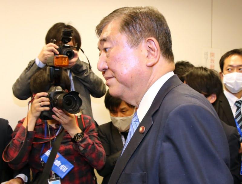 石破氏、派閥会長を辞任 結成5年で遠心力