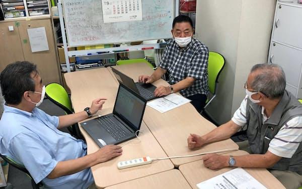 広芝さん(右)、野笹さん(中)、大宮さんもGPパートナーズでのNPO支援を通じて知り合った