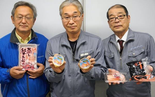 上野水産は蒸す加工技術で味わいを高めている