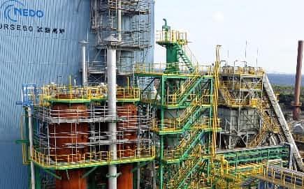 鉄鋼業界は水素製鉄の実用化を急ぐ(千葉県君津市の日本製鉄東日本製鉄所君津地区)