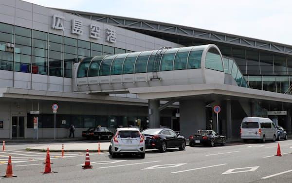 広島市内へのアクセス向上などが課題となる(広島空港)