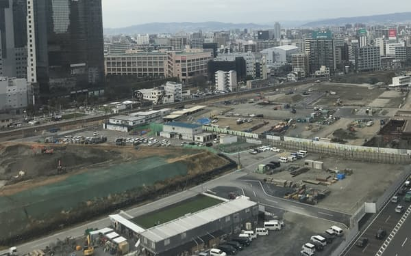 うめきた2期の地下にはJR西日本の新駅もできる(大阪市)