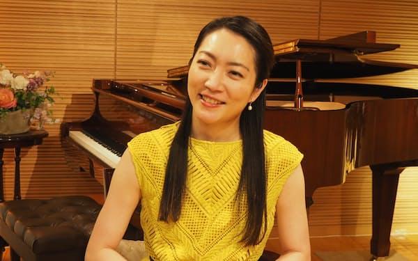 音楽祭の芸術監督を務めるバイオリニストの諏訪内晶子