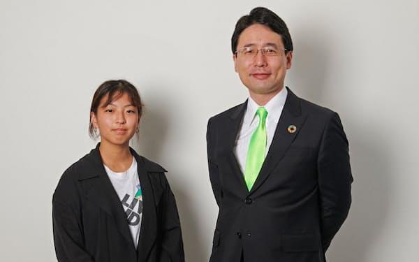 新しい価値観や視点を取り入れるため、これからの日本を背負う10代が最高未来責任者に就任した