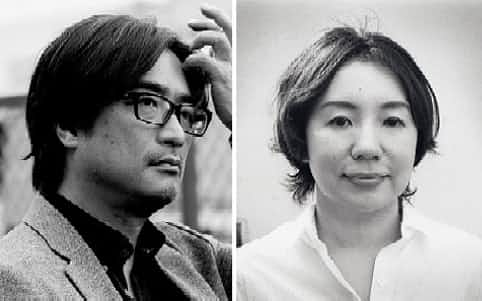 社会学者の岸政彦(左)と作家の柴崎友香=河出書房新社提供