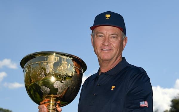 2022年プレジデンツカップの米国選抜の主将となるデービス・ラブ=(C)PGA TOUR