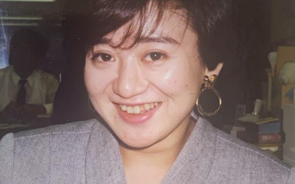 東京営業部で働いていた新人時代。まもなく出向し、本社を17年離れた