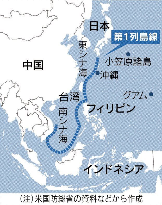米軍がアジアに対中ミサイル網 6年で2.9兆円要望
