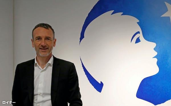 フランス食品大手ダノンは15日、ファベール最高経営責任者(CEO)を解任した=ロイター