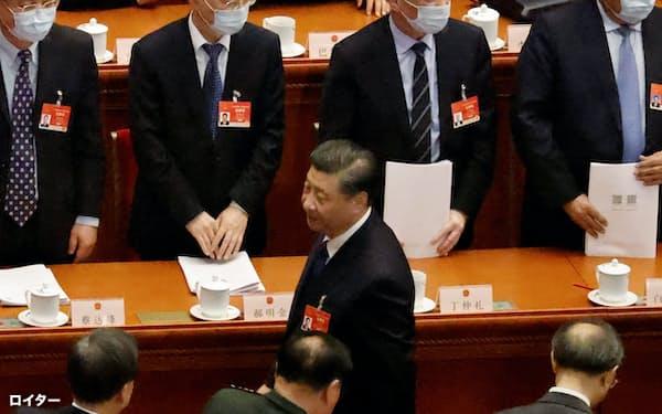 中国全人代が香港の選挙制度の見直しを決めたのは、中国政府が自らの主張を貫くのに一切の妥協を許さない決意表明ともみられている=ロイター