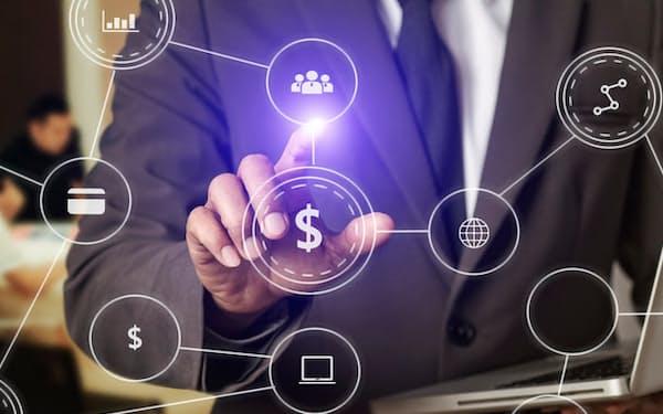 騰銀財智は国内外の120を超える金融機関にサービスを提供している=図虫提供
