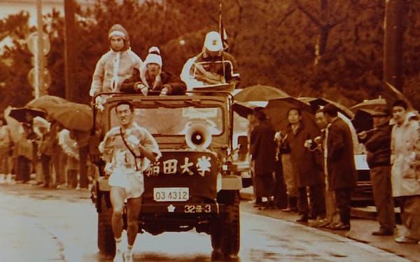 箱根駅伝には1979年と80年、2回出場した=報知新聞社提供