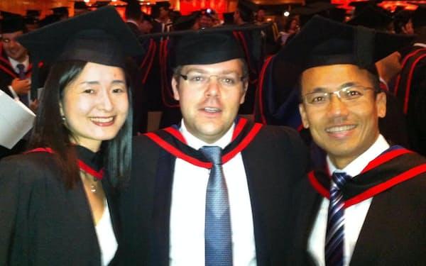 社長業を続けながら毎月海外のビジネススクールに通い、20カ月かけてMBAを取得した