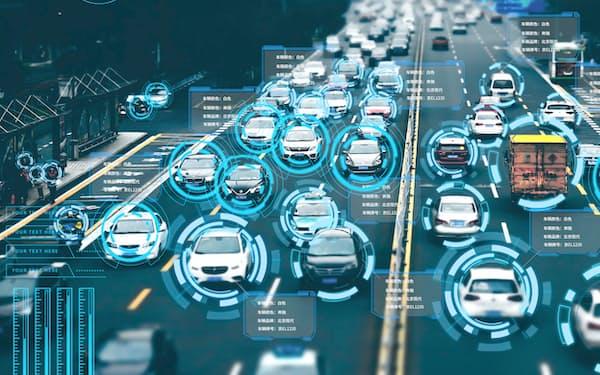 5G通信とAIをベースに車両認識技術などを開発する