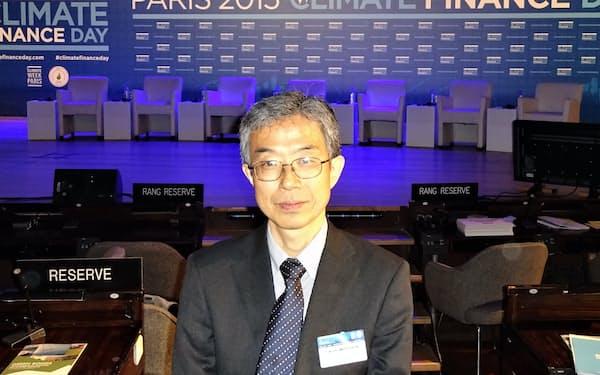 パリで環境金融のシンポに参加した(2015年)