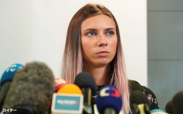EUが東京五輪に出たベラルーシの陸上選手のポーランドへの亡命を認めたのは法律による保護ではなく、どれだけ価値ある人物かで決めたともとれ問題視する向きがある=ロイター