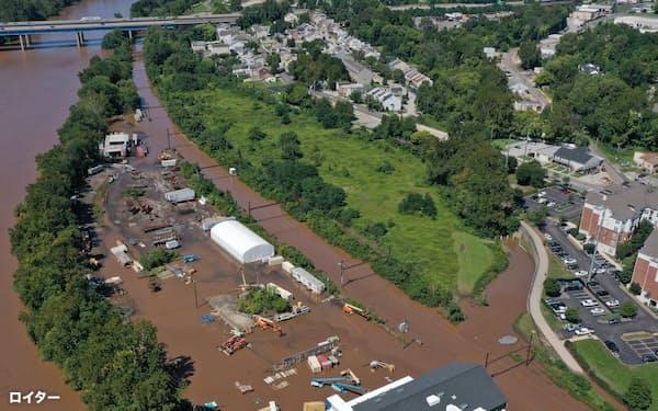 米国では依然として気候変動を信じない人が多いという(8月末に大型ハリケーン「アイダ」は深刻な爪痕をルイジアナ州に残した)=ロイター